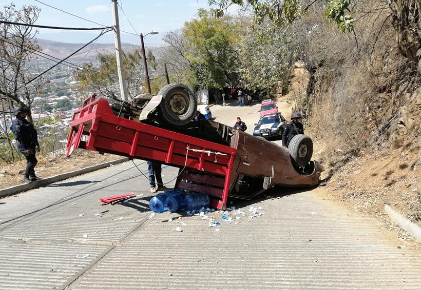 Volcadura deja un lesionado de gravedad en Oaxaca | El Imparcial de Oaxaca