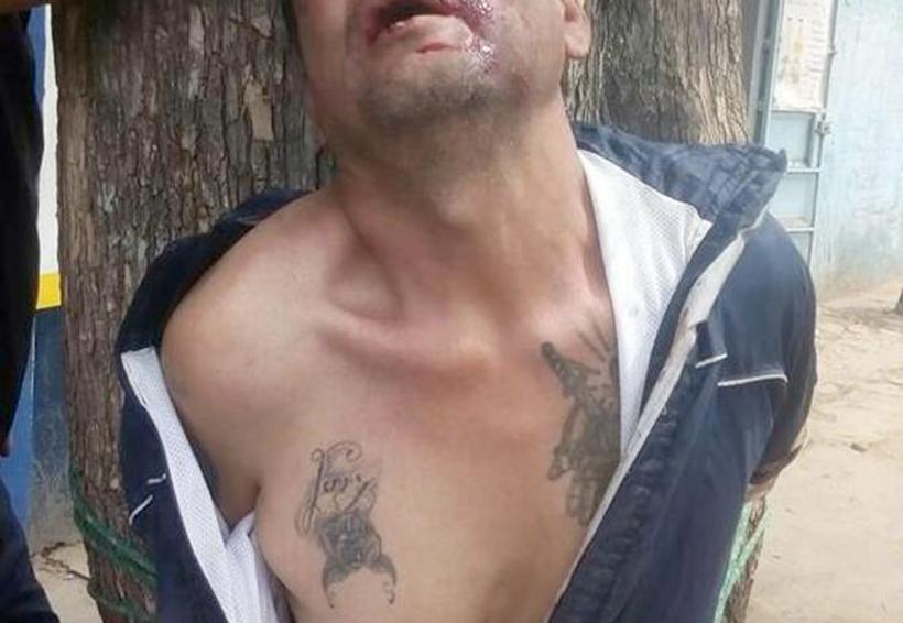 Detenido y golpeado por tratar de robar celulares en Oaxaca | El Imparcial de Oaxaca