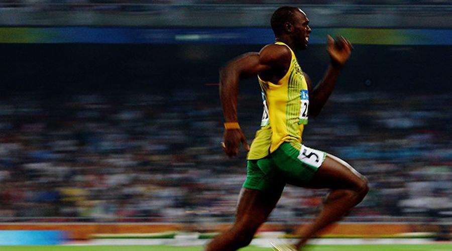 Video: Nuevo récord  para Usain Bolt en un evento de la Super Bowl | El Imparcial de Oaxaca