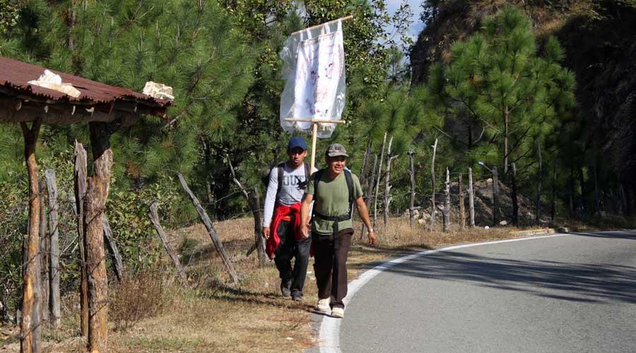 Exigen liberar el paso hacia Juquila | El Imparcial de Oaxaca