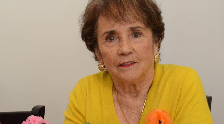 Lucita, cumple 80 años