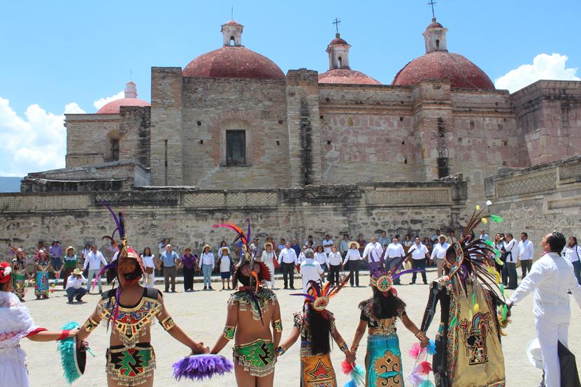 Celebran en la Villa de Mitla el equinoccio de primavera | El Imparcial de Oaxaca