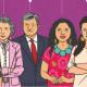 """AMLO destaca a mujeres: """"son más trabajadoras, decididas y trabajadoras que el hombre"""""""