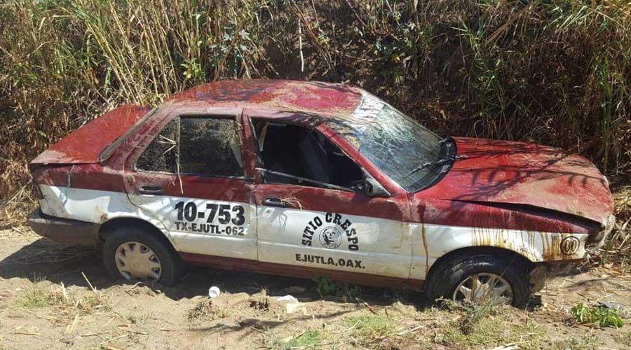 Recuperan taxi con reporte de robo en Ocotlán | El Imparcial de Oaxaca