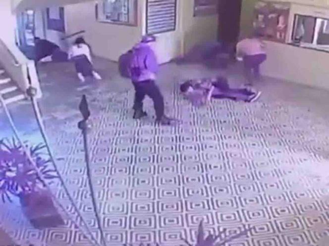 Video: Difunden imágenes de trágica matanza en escuela de Brasil | El Imparcial de Oaxaca