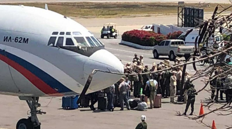 Aterrizan aviones militares rusos en Venezuela | El Imparcial de Oaxaca