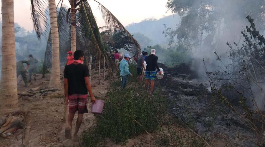 Incendio en Huatulco arrasa con varios inmuebles de la zona | El Imparcial de Oaxaca