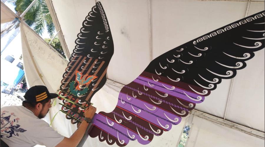 Exponen Alas de vida, homenaje al arte textil en El Tule | El Imparcial de Oaxaca