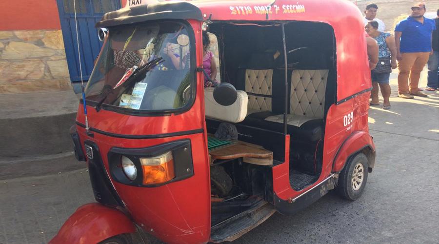 Se registra percance vial entre mototaxis en Juchitán | El Imparcial de Oaxaca