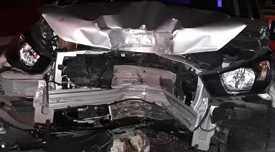 Destruye su vehículo por conducir ebrio en Huatulco | El Imparcial de Oaxaca