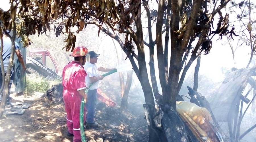 Se registra otro incendio en Santa Cruz Xoxocotlán | El Imparcial de Oaxaca