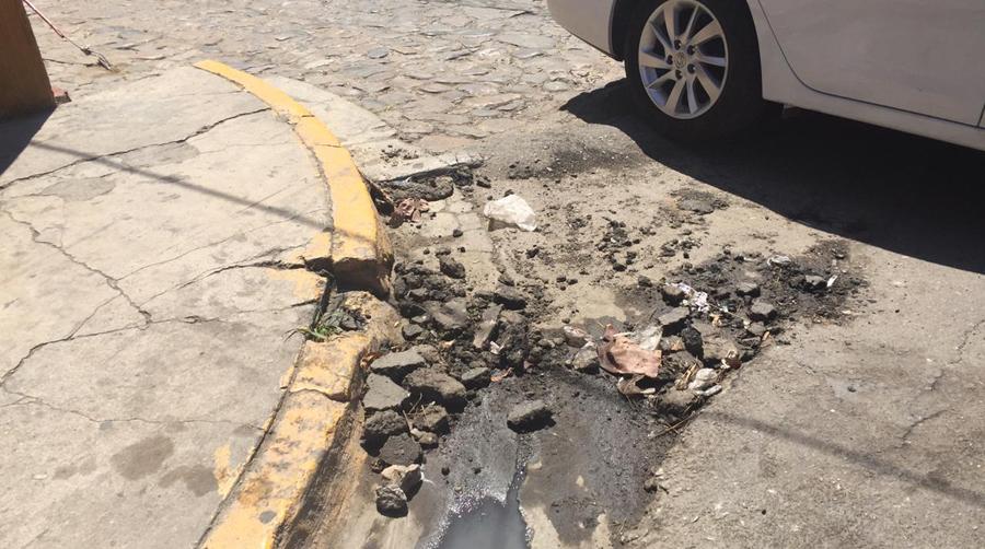 Deterioro urbano, un lastre para la movilidad peatonal de los oaxaqueños | El Imparcial de Oaxaca