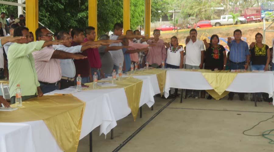 Instalan consejo de desarrollo social municipal en San Juan Guichicovi | El Imparcial de Oaxaca