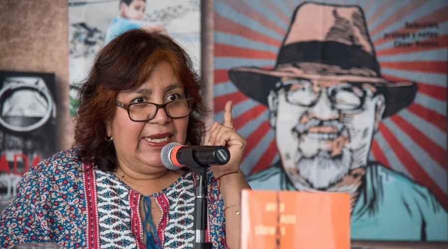 Viuda de Valdez denuncia que fue víctima de intento de espionaje