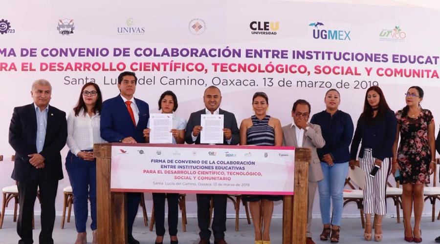 Celebra Santa Lucía convenios con instituciones educativas   El Imparcial de Oaxaca