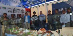 Inauguran expoferia industrial, artesanal y cultural en Lagunas