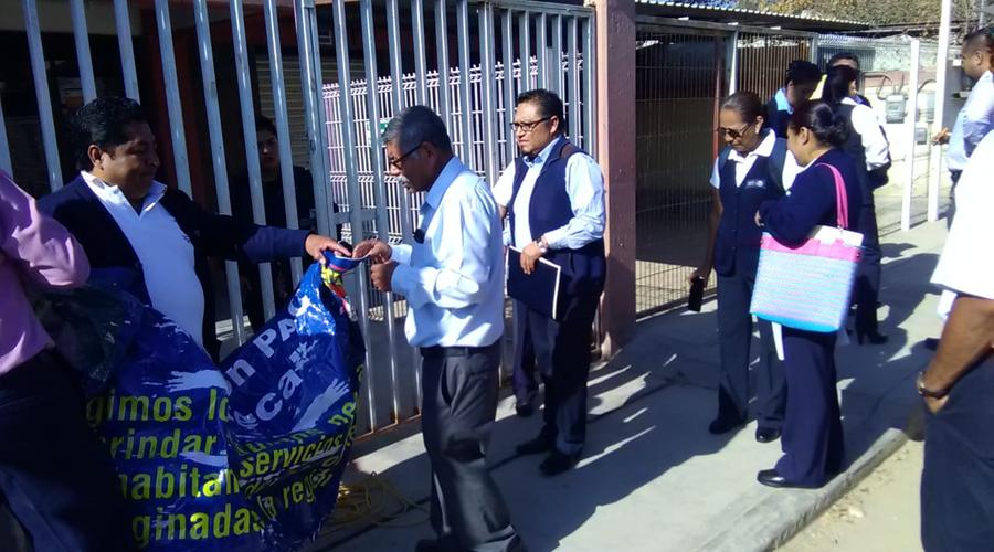 En la Mixteca toman instalaciones de  Jurisdicción Sanitaria 5