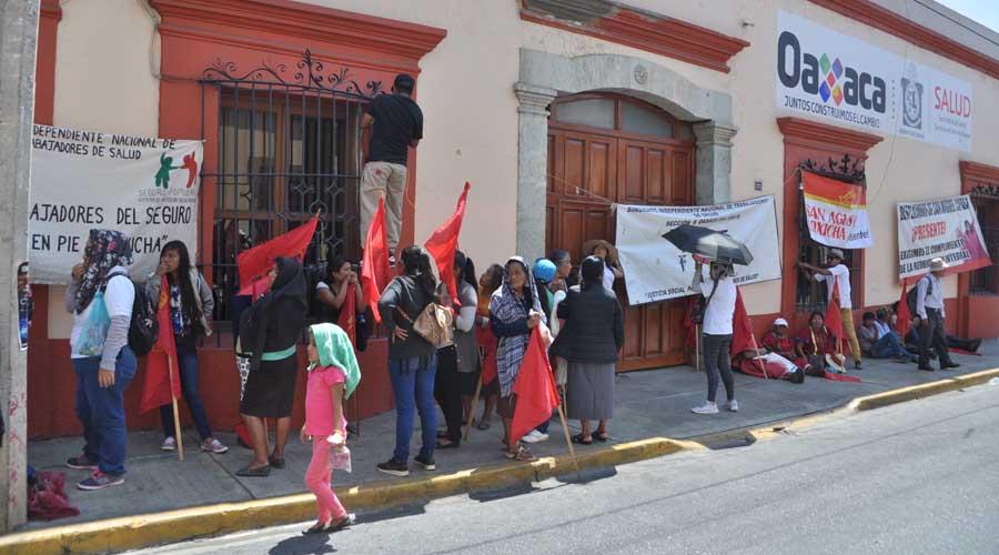 Sol Rojo desquicia el Centro Histórico con bloqueos | El Imparcial de Oaxaca