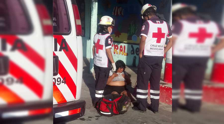 Abandonan a mujer golpeada en calles de Salina Cruz
