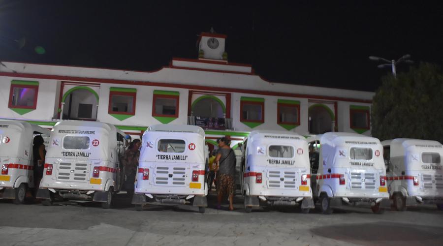 Policía Vial y Estatal regresan mototaxis a Santiago Jamiltepec