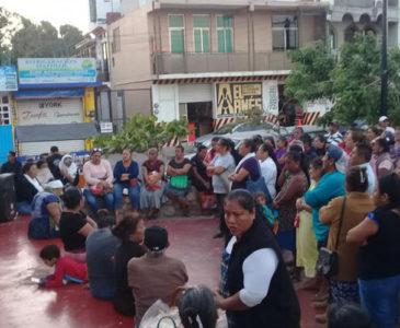 Prevén movilizaciones damnificados en Juchitán