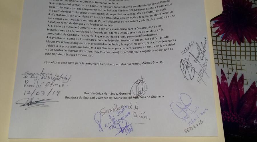 Putla Villa de Guerrero, vive altos índices  de inseguridad