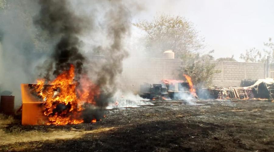 Se propagan incendios forestales en Salina Cruz, Oaxaca