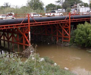 Sin poder parar la contaminación de los ríos de Oaxaca