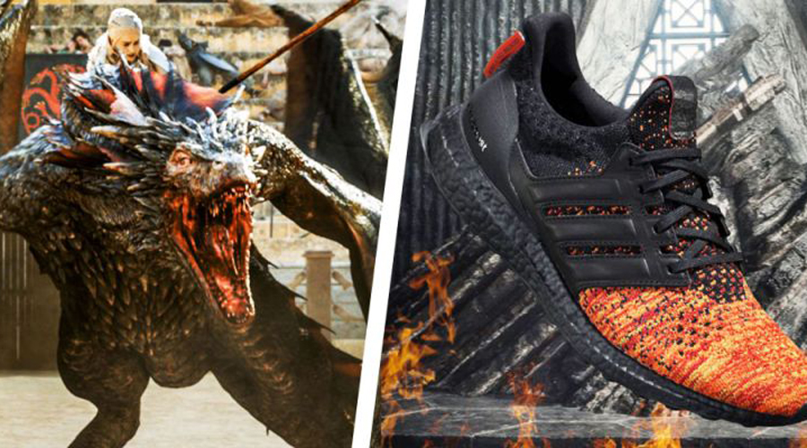 Zapatillas de Game of Thrones llegarán a Chile a fines de marzo
