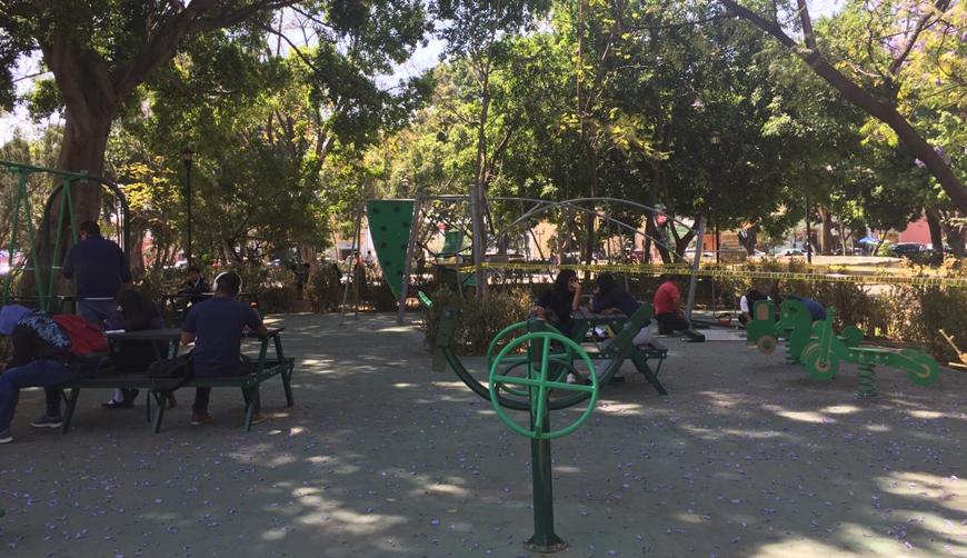 Un espacio incluyente dentro del parque El Llano | El Imparcial de Oaxaca