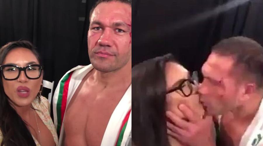 Video: boxeador besa en la boca a reportera durante entrevista sin su consentimiento | El Imparcial de Oaxaca