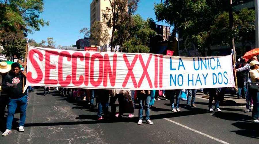 Alista Sección 22 movilizaciones contra la Reforma Educativa | El Imparcial de Oaxaca
