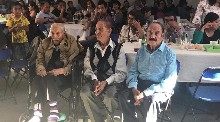 Don Alejandrino  cumple 97 años