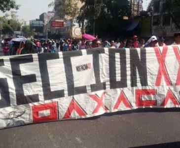 Alista sección 22 nuevas protestas en San Lázaro