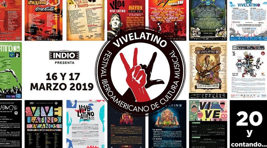 Con la participación de 85 artistas celebraran edición 20 del Vive Latino   El Imparcial de Oaxaca