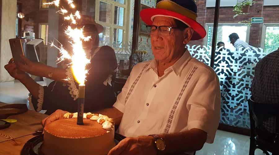 ¡Felices  74 años Mijail!