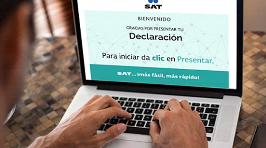 Campaña del SAT es engañosa, toma más de dos minutos realizar declaración anual | El Imparcial de Oaxaca