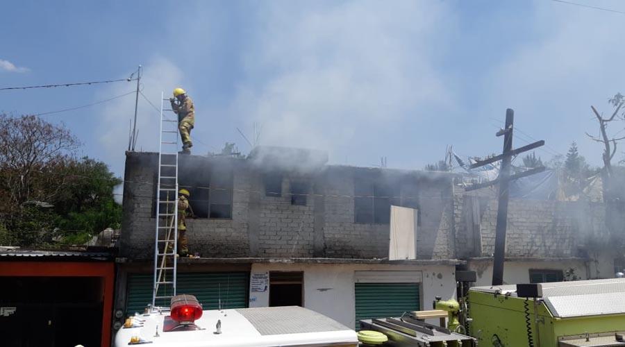 Arden viviendas en Huajuapan de León | El Imparcial de Oaxaca
