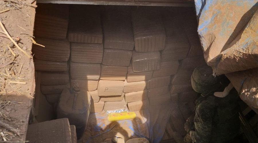 Localiza Sedena 400 kilos de mariguana escondidos en cisterna | El Imparcial de Oaxaca