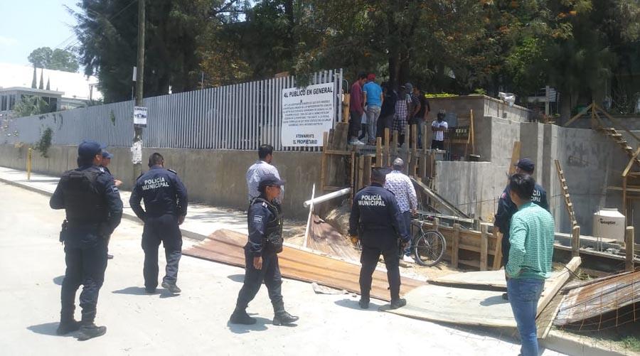 Denuncian tentativa de despojo y daños en el caso IESO   El Imparcial de Oaxaca