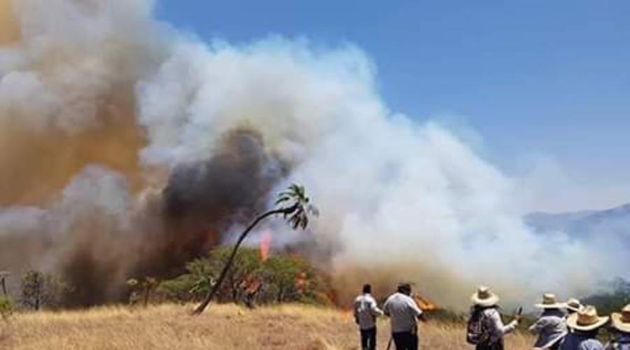 Piden ayuda tras incendio forestal en Silacayoápan | El Imparcial de Oaxaca