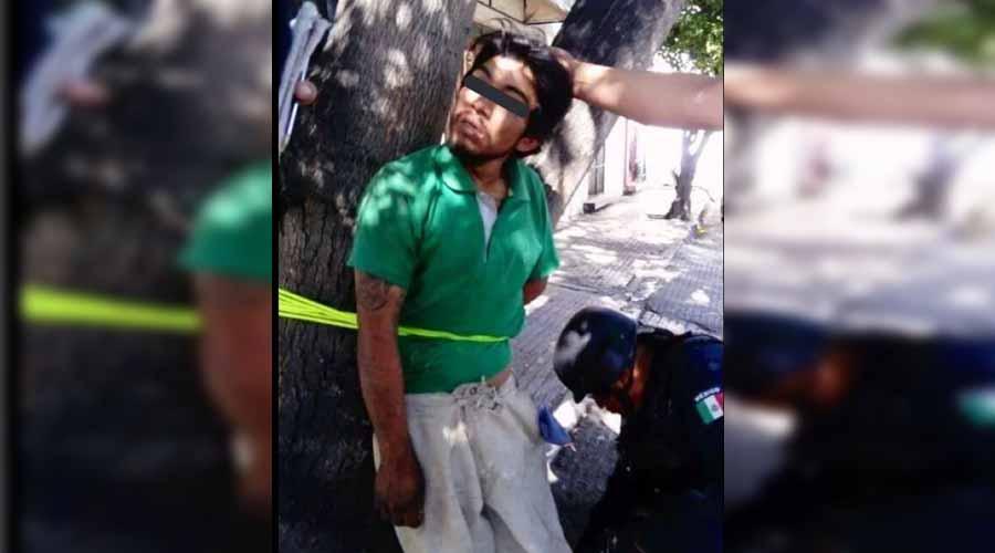 Amarran a presunto ladrón en San Martin Mexicápam | El Imparcial de Oaxaca