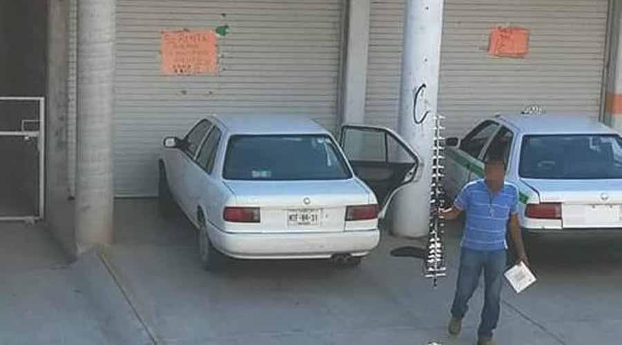 Acusan a taxista de robar pertenencias de automóvil ajeno | El Imparcial de Oaxaca