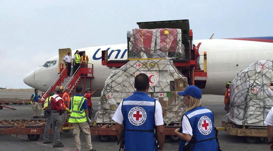 Llega ayuda humanitaria de la Cruz Roja a Venezuela   El Imparcial de Oaxaca