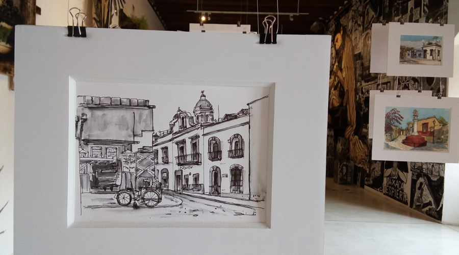 Bianchi comparte  su mirada sobre la  ciudad de Oaxaca