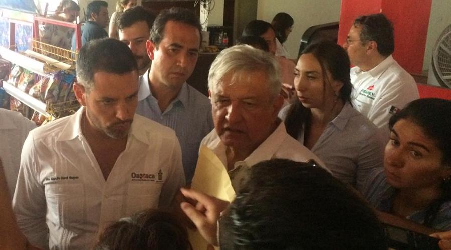 Supervisan AMLO y Murat avances del Tren Interoceánico   El Imparcial de Oaxaca