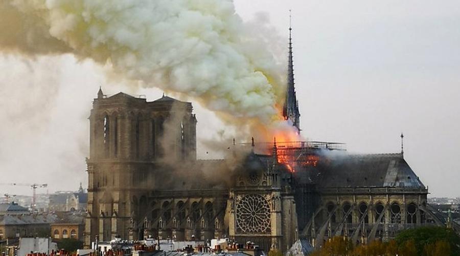 Video: Se incendia la Catedral de Notre Dame en París   El Imparcial de Oaxaca