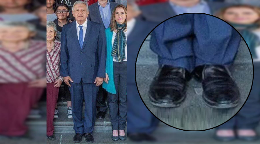 Periodista se burla de zapatos de AMLO y desata la ira en redes | El Imparcial de Oaxaca