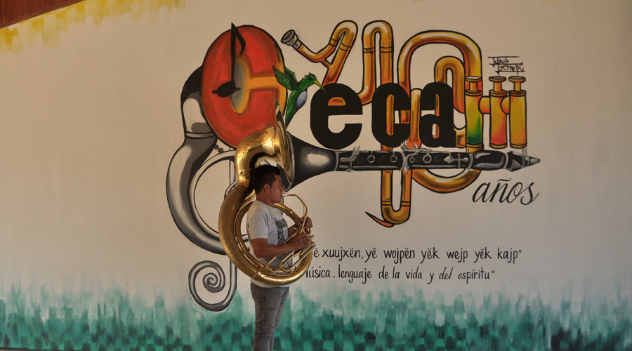 El Cecam, una escuela de música entre las montañas de Oaxaca