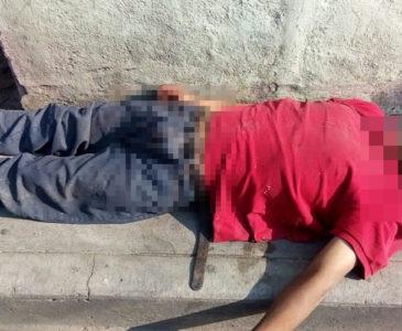 Muere alcohólico en la vía pública en colonia Cosijoeza